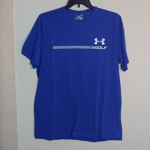 Under Armour Mens Golf Tee Shirt Size Large